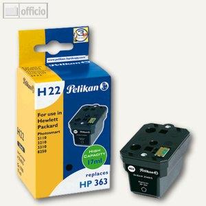 Pelikan Tintenpatrone H22 für HP No. 363, schwarz, 354815