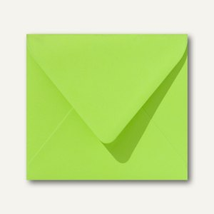 Farbige Briefumschläge 125 x 140 mm nassklebend ohne Fenster apfelgrün 500St.