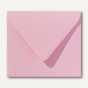 Farbige Briefumschläge 125 x 140 mm nassklebend ohne Fenster dunkelrosa 500St.