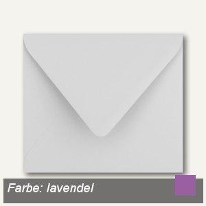 Farbige Briefumschläge 125 x 140 mm nassklebend ohne Fenster lavendel 500St.