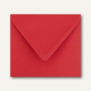 Farbige Briefumschläge 125 x 140 mm nassklebend ohne Fenster rosenrot 500St.