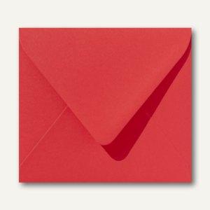Farbige Briefumschläge 125 x 140 mm nassklebend ohne Fenster korallenrot 500St.