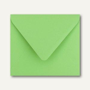 Farbige Briefumschläge 125 x 140 mm nassklebend ohne Fenster wiesengrün 500St.