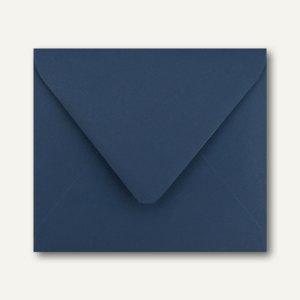 Farbige Briefumschläge 125 x 140 mm nassklebend ohne Fenster dunkelblau 500St.