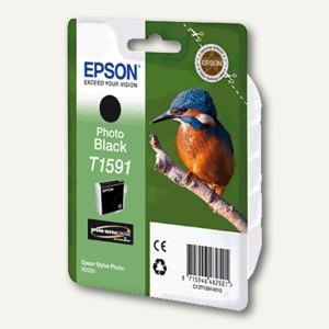 Epson Tintenpatrone T1591, photo-schwarz, C13T15914010
