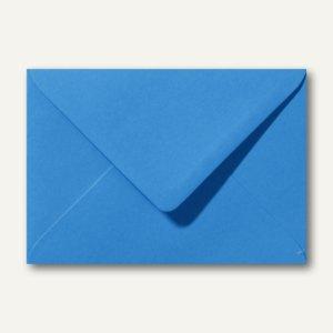Farbige Briefumschläge 130 x 180 mm nassklebend ohne Fenster königsblau 500St.