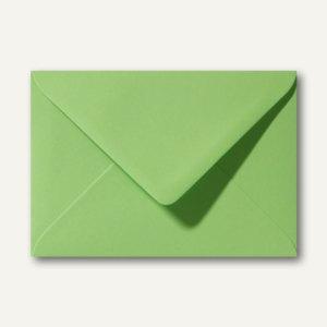 Farbige Briefumschläge 130 x 180 mm nassklebend ohne Fenster apfelgrün 500St.