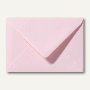 Farbige Briefumschläge 130 x 180 mm nassklebend ohne Fenster hellrosa 500St.