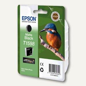 Epson Tintenpatrone T1598, matt-schwarz, C13T15984010