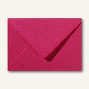 Farbige Briefumschläge 130 x 180 mm nassklebend ohne Fenster fuchsie 500St.