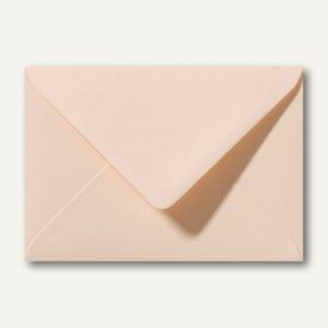 Farbige Briefumschläge 130 x 180 mm nassklebend ohne Fenster aprikose 500St.