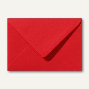 Farbige Briefumschläge 130 x 180 mm nassklebend ohne Fenster rosenrot 500St.