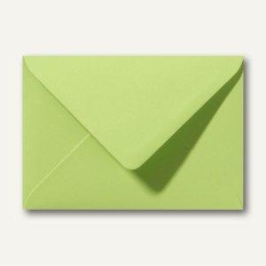 Farbige Briefumschläge 130 x 180 mm nassklebend ohne Fenster lindgrün 500St.