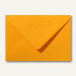 Farbige Briefumschläge 130 x 180 mm nassklebend ohne Fenster goldgelb 500St.