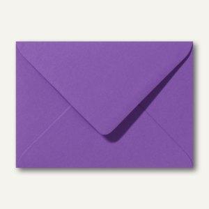 Farbige Briefumschläge 130 x 180 mm nassklebend ohne Fenster violett 500St.