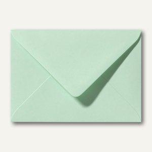 Farbige Briefumschläge 130 x 180 mm nasskleb. ohne Fenster frühlingsgrün 500St.