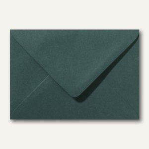 Farbige Briefumschläge 130 x 180 mm nassklebend ohne Fenster dunkelgrün 500St.