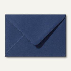 Farbige Briefumschläge 130 x 180 mm nassklebend ohne Fenster dunkelblau 500St.