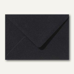Farbige Briefumschläge 130 x 180 mm nassklebend ohne Fenster schwarz 500St.