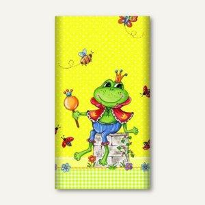 """Motiv-Tischdecke """"Prince Frog"""", Papier, lackiert, 120 x 180 cm, bunt, 81956"""