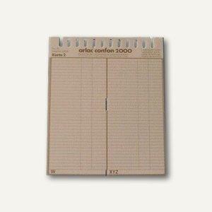 Ersatzregister Confon 2000 für ca. 700 Telefonnummern