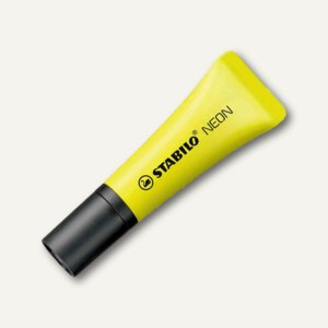 STABILO Textmarker NEON, Keilspitze 2-5mm, gelb, 72/24