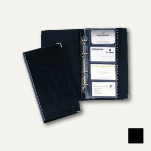 VISIFX Visitenkartenringbuch für 200 Visitenkarten