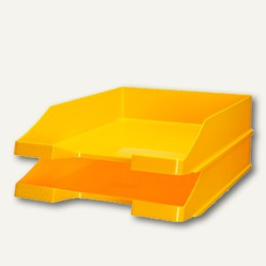 HAN Briefablage KLASSIK gelb, 2er Pack, 1027-X-15
