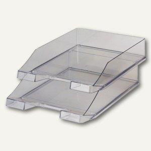 HAN Briefablage KLASSIK, transparent grau, 2er Pack, 1026-X-24