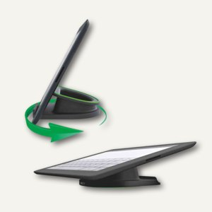 LEITZ Tischständer für iPad/Tablet PC Complete, drehbar, schwarz, 6270-00-95