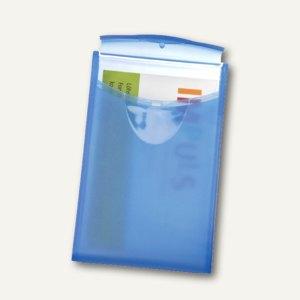 HAN Visitenkartenbox COGNITO, für 20 Karten, transluzent-blau, 2002-64