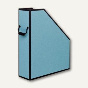 Rössler Stehsammler mit Kordelgriff, Powder Blue-schwarz, 2er Pack, 1318454802