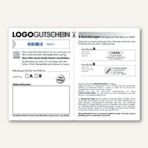 Artikelbild: Logo-Gutschein für Trodat-Stempel