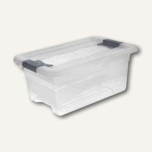 "Aufbewahrungsbox ""Kristall-Box"" 4 Liter, 295 x 195 x 125 mm, PP, Deckel, transpa"
