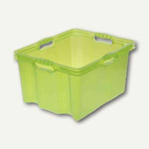 OKT Aufbewahrungsbox Multi-Box XL, 24 l, 430 x 350 x 230 mm, grün, 1027425100000