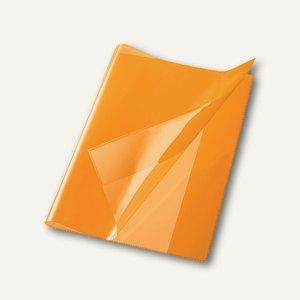 Bene Heftschoner, DIN A4, extra starke Folie, transluzent, orange, 270400 orange