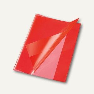 Bene Heftschoner, DIN A4, extra starke Folie, transluzent, rot, 270400 rot