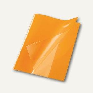 Bene Heftschoner, DIN A5, extra starke Folie, transluzent, orange, 270500 orange