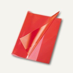 Bene Heftschoner, DIN A5, extra starke Folie, transluzent, rot, 270500 rot