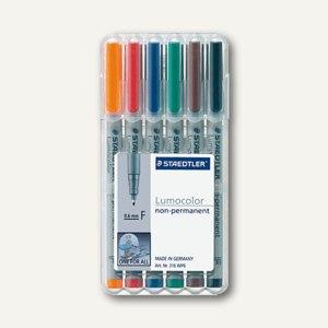 Staedtler Lumocolor Universalstift non-permanent 316 F, 0.6 mm, 6er Etui,316 WP6