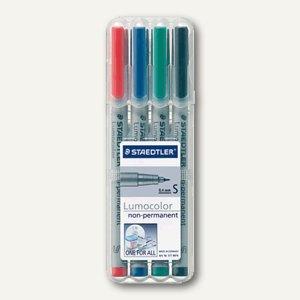 Lumocolor Universalstift 311, non-permanent, S, 0.4 mm, 4er Etui, 311 WP4