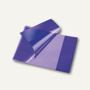 Heftschoner, DIN A5 quer, extra starke Folie, transluzent, violett, 270800 viole