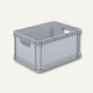 """Aufbewahrungsbox """"Robusto-Box"""" - 20 Liter, 400 x 300 x 220 mm, PP, lichtgrau, 10"""