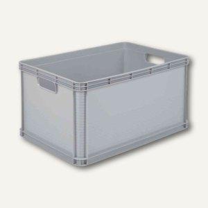 """Aufbewahrungsbox """"Robusto-Box"""" - 64 Liter, 600 x 400 x 320 mm, PP, lichtgrau, 10"""