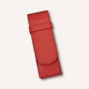 Alassio Stifte-Etui für 2 Schreibgeräte, Leder, rot, 2670