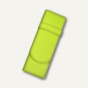 Alassio Stifte-Etui für 2 Schreibgeräte, Leder, hellgrün, 2672