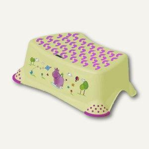 """OKT Tritthocker """"Hippo"""", grün mit Aufdruck, 1864226201200"""