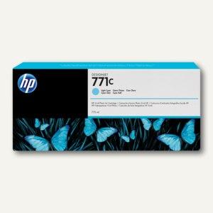 HP Tintenpatrone 771C, cyan-hell, B6Y12A