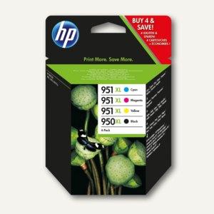 HP Tintenpatrone 950XL / 951XL, Multipack, cmyk, C2P43AE