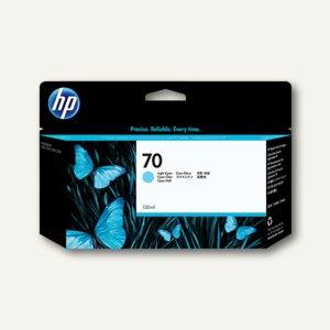 HP Tintenpatrone Nr.70, cyan-hell, 130 ml, C9390A